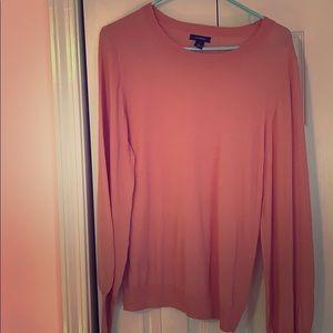 EUC Halogen pink sweater.